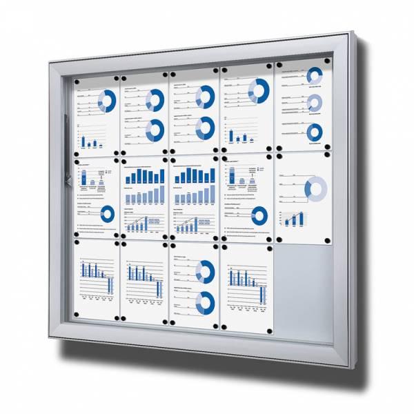 Vitrina exterior magnética Premium (15xA4)
