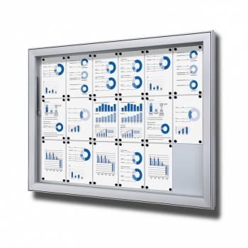 Vitrina exterior magnética Premium (18xA4)