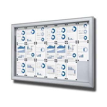 Vitrina exterior magnética Premium (21xA4)