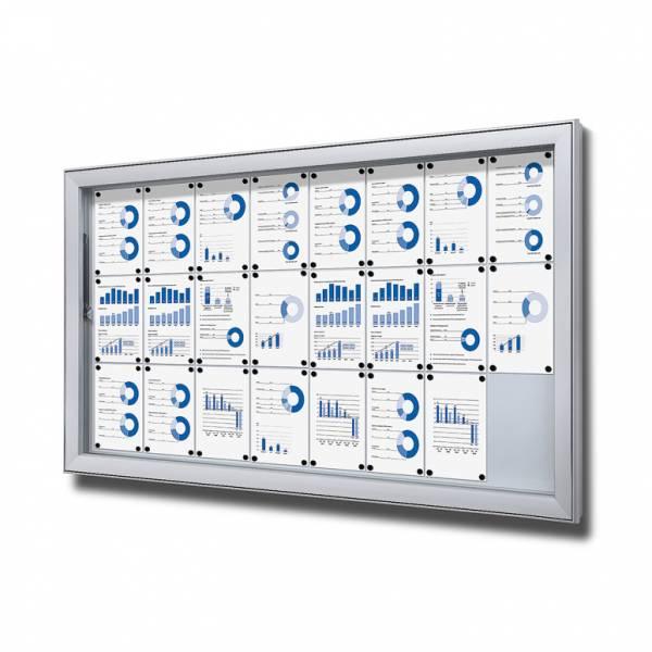 Vitrina exterior magnética Premium (24xA4)