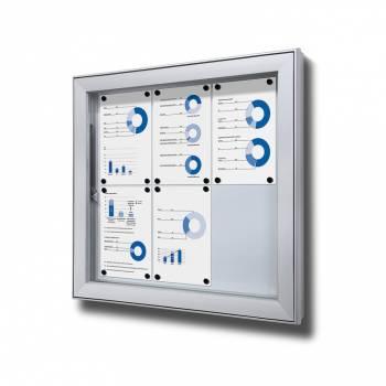 Vitrina exterior magnética Premium (6xA4)