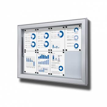 Vitrina exterior magnética Premium (8xA4)