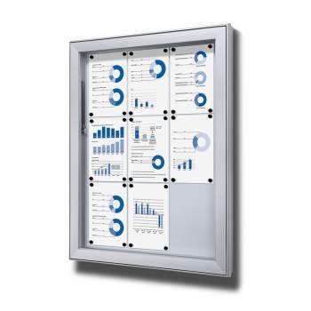 Vitrina exterior magnética Premium (9xA4)