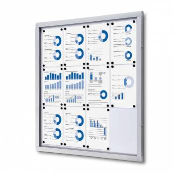 Tablón de anuncios magnético Plus (12xA4)