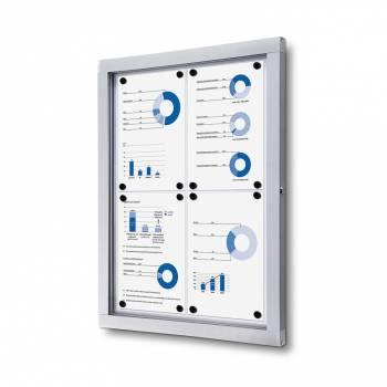 Tablón de anuncios magnético Plus (4xA4)