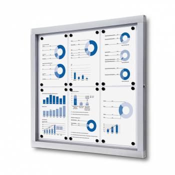 Tablón de anuncios magnético Plus (6xA4)