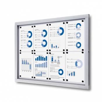 Tablón de anuncios magnético Plus (8xA4)
