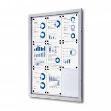 Tablón de anuncios magnético Plus (9xA4)