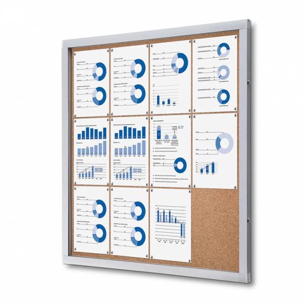 Tablón de anuncios de corcho (12xA4)