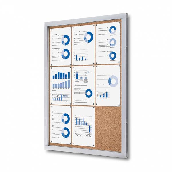 Tablón de anuncios de corcho (9xA4)