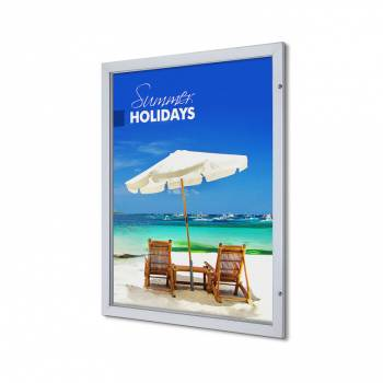 Marco póster con cerradura Premium 101,6 x 127 (53 mm)