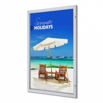 Marco póster con cerradura Premium 101,6 x 152,4 (53 mm)