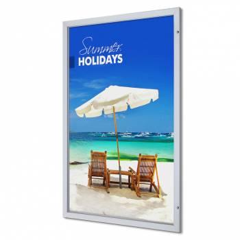 Marco póster con cerradura Premium 120 x 180 (53 mm)