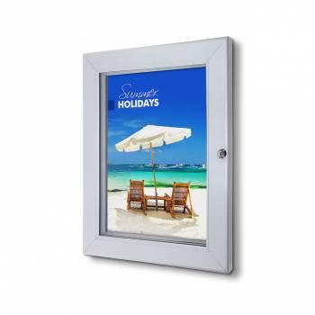 Marco póster con cerradura Premium A3 (53 mm)