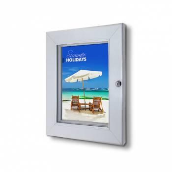 Marco póster con cerradura Premium A4 (53 mm)