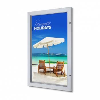 Marco póster con cerradura Premium 63,5 x 101,6 (53 mm)