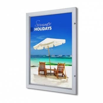 Marco póster con cerradura Premium 70 x 100  (53 mm)