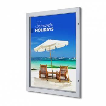Marco póster con cerradura Premium 76,2 x 101,6 (53 mm)