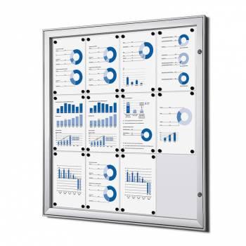 Tablón de anuncios interior / exterior (12xA4)