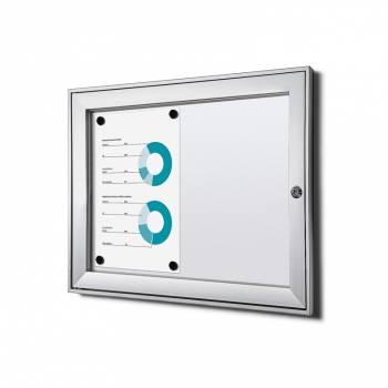 Tablón de anuncios ignífugo interior / exterior (2xA4)