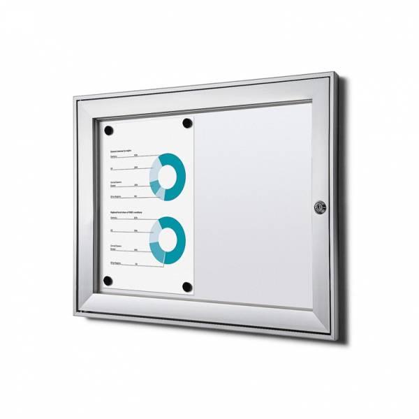 Tablón de anuncios magnético ignífugo (2xA4)