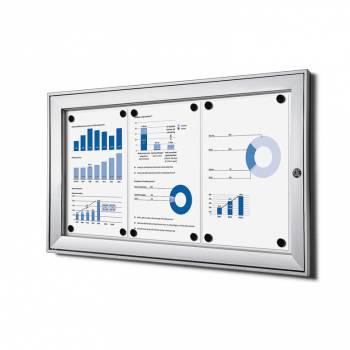 Tablón de anuncios interior / exterior (3xA4)