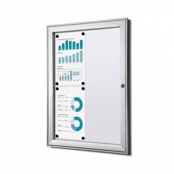 Tablón de anuncios ignífugo interior / exterior (4xA4)