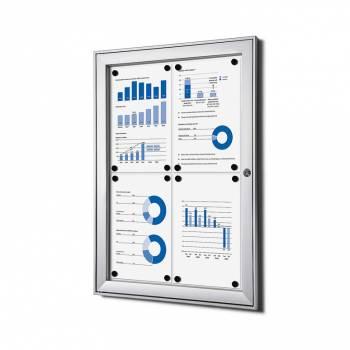 Tablón de anuncios interior / exterior (4xA4)