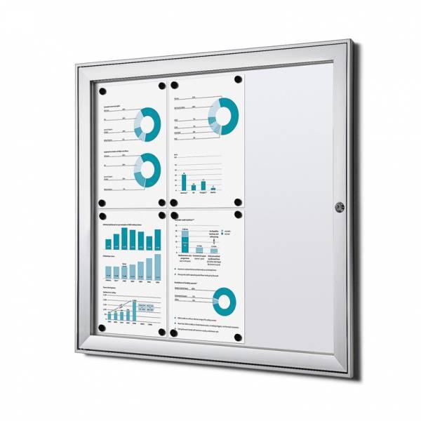 Tablón de anuncios magnético ignífugo (6xA4)