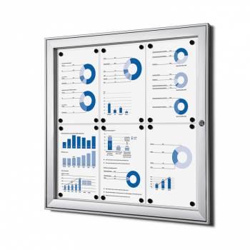 Tablón de anuncios interior / exterior (6xA4)