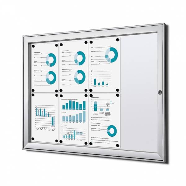 Tablón de anuncios magnético ignífugo (8xA4)