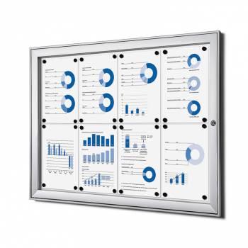 Tablón de anuncios magnético (8xA4)
