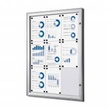 Tablón de anuncios magnético (9xA4)