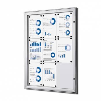 Tablón de anuncios interior / exterior (9xA4)