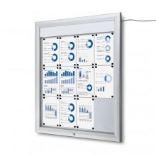 Vitrina Magnética Exterior Premium (LED)