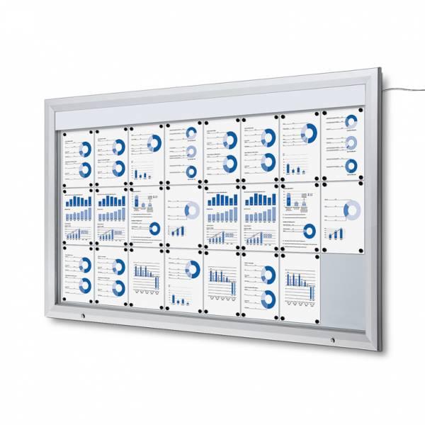 Vitrina Exterior Magnética LED (24xA4)