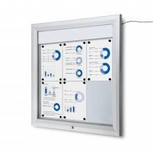 Vitrina Exterior Magnética LED (6xA4)