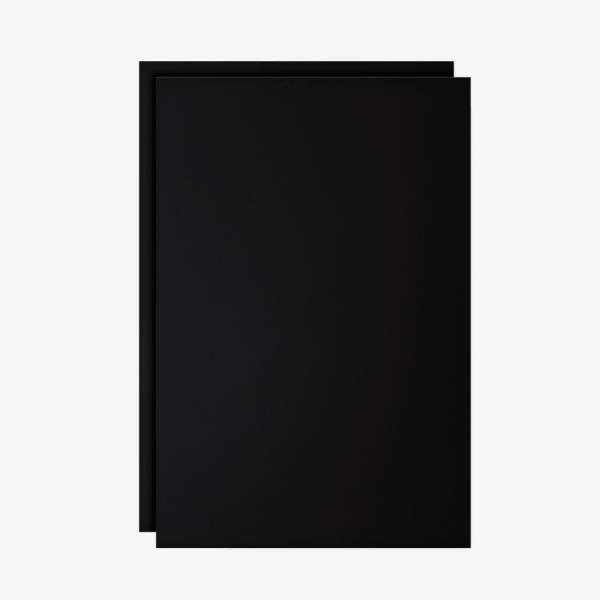Set 2 láminas pizarra de tiza A1