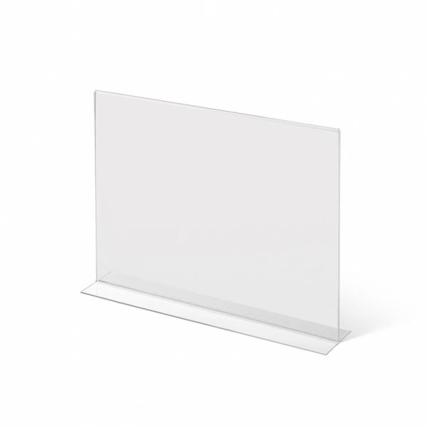 Soporte para folletos y menús horizontal, doble cara (A3) horizontal