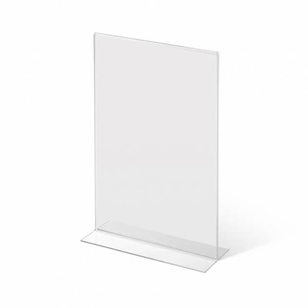 Soporte para folletos de mostrador de doble cara (A4)