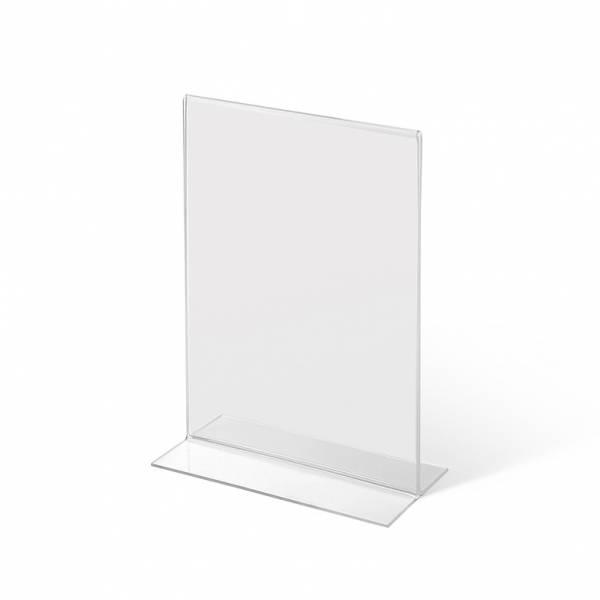 Soporte para folletos de mostrador de doble cara (A5)