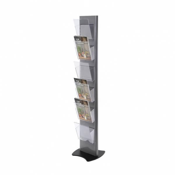 Torre portafolletos (6 dispensadores)