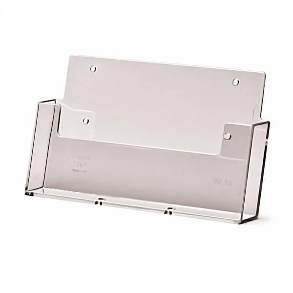 Portafolletos horizontal de pared (A5)
