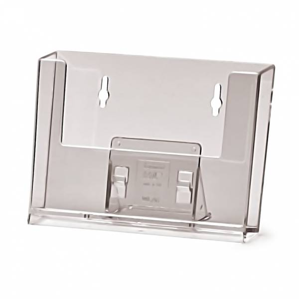 Portafolletos horizontal de pared (A6)