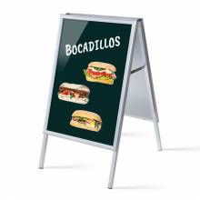 A-board A1 Complete Set Snacks