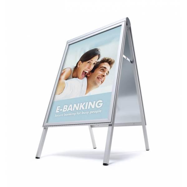 Caballete publicitario Premium COMPASSO ® 70x100