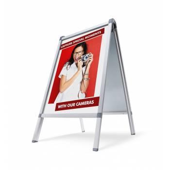 Caballete publicitario Premium A1- Resistente a la intemperie