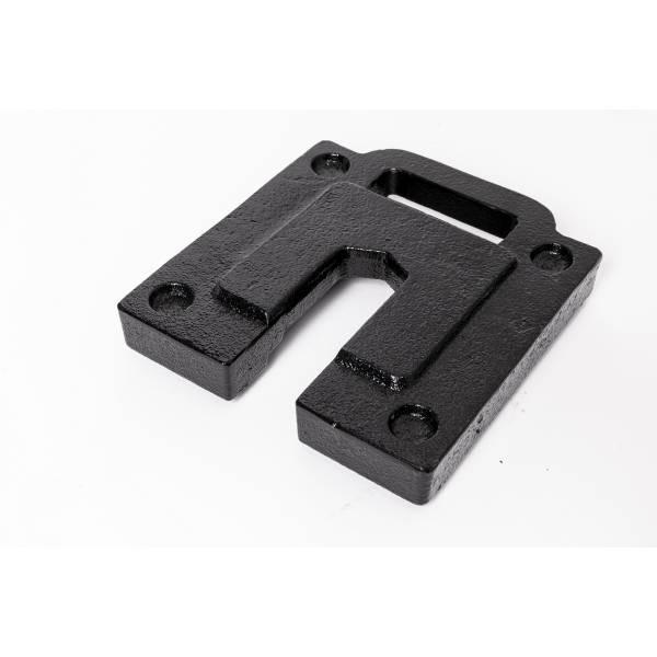 Carpa aluminio placa de acero 5 KG